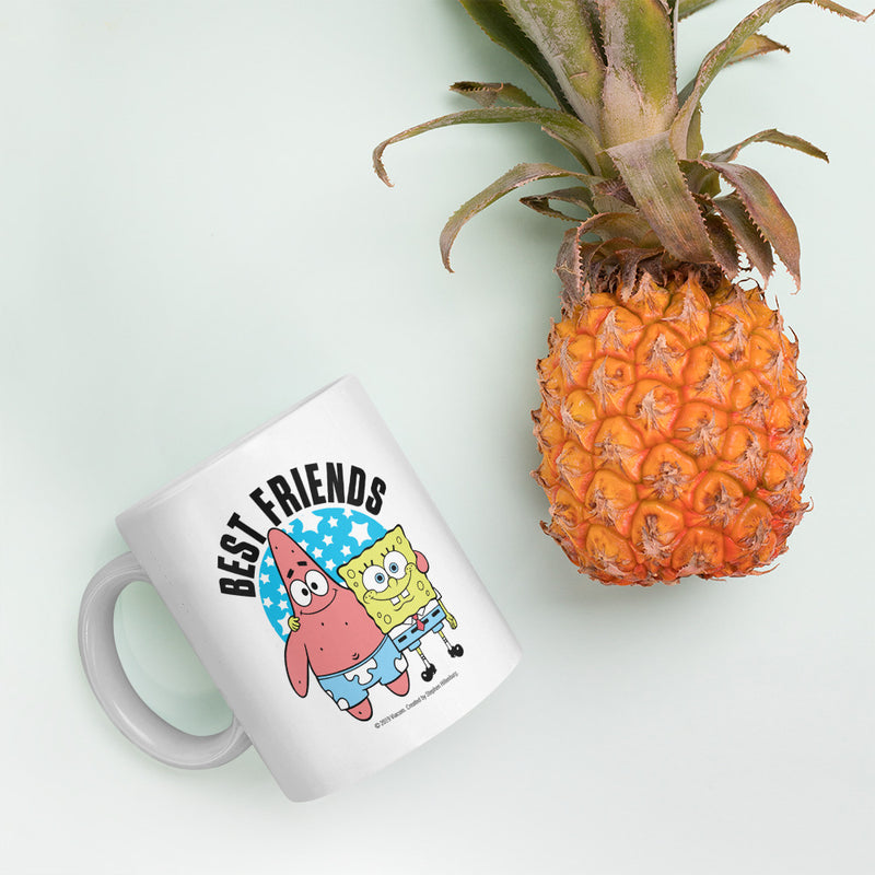 SpongeBob SquarePants Best Friends Personalized 11oz Mug