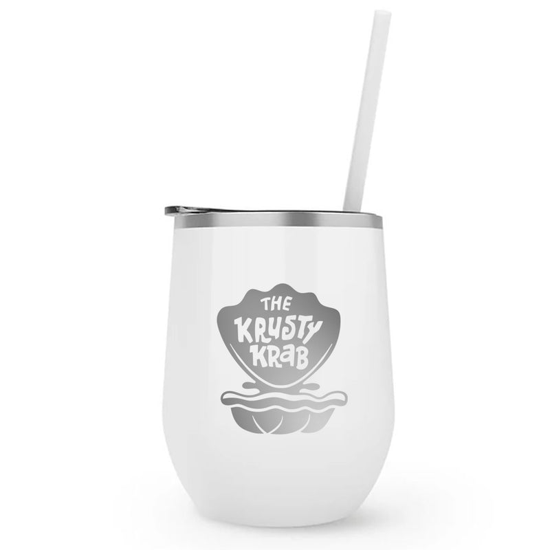 The Krusty Krab Insulated Short Tumbler - SpongeBob SquarePants Official Shop