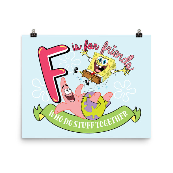 "SpongeBob SquarePants Do Stuff Together Poster - 16"" x 20"""