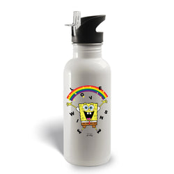 SpongeBob SquarePants Love Wins Stainless Steel Water Bottle