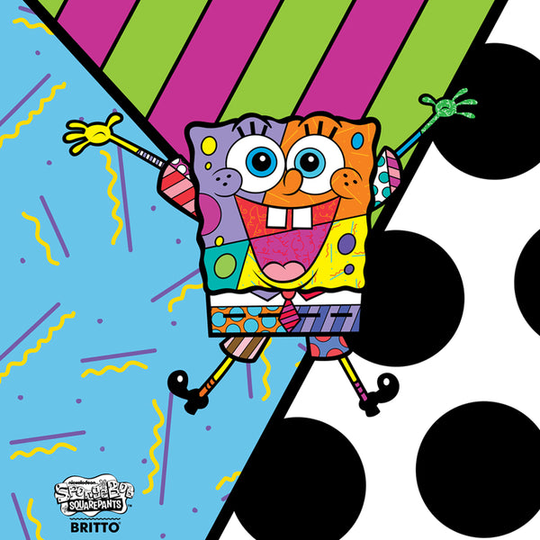 SpongeBob SquarePants Britto Crew Neck Sweatshirt - SpongeBob SquarePants Official Shop