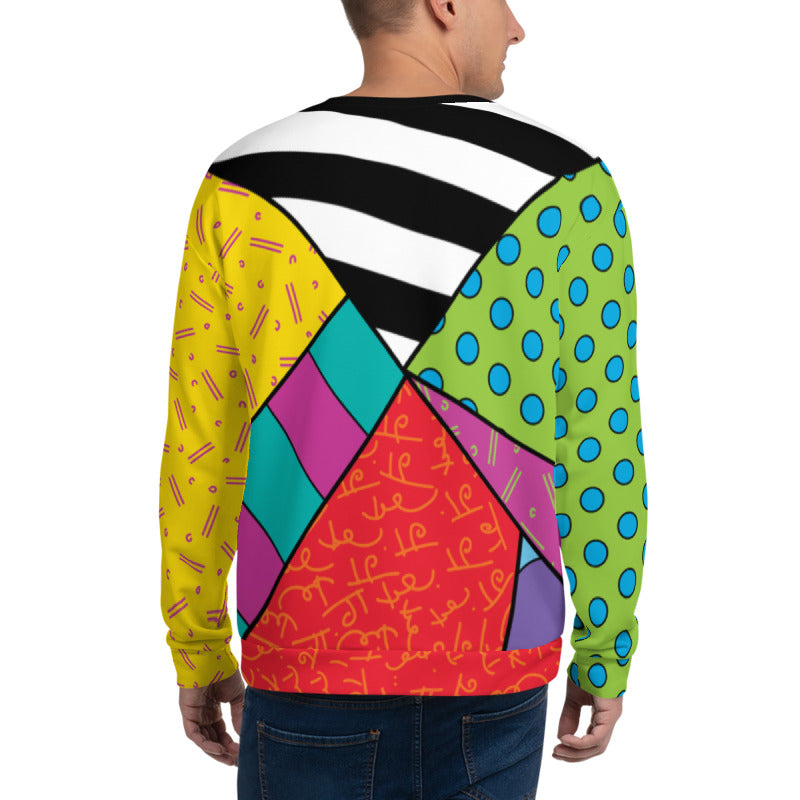 Plankton Britto Crew Neck Sweatshirt - SpongeBob SquarePants Official Shop