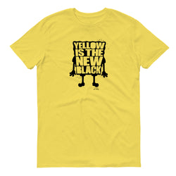 SpongeBob SquarePants Yellow Is The New Black Short Sleeve T-Shirt - SpongeBob SquarePants Official Shop