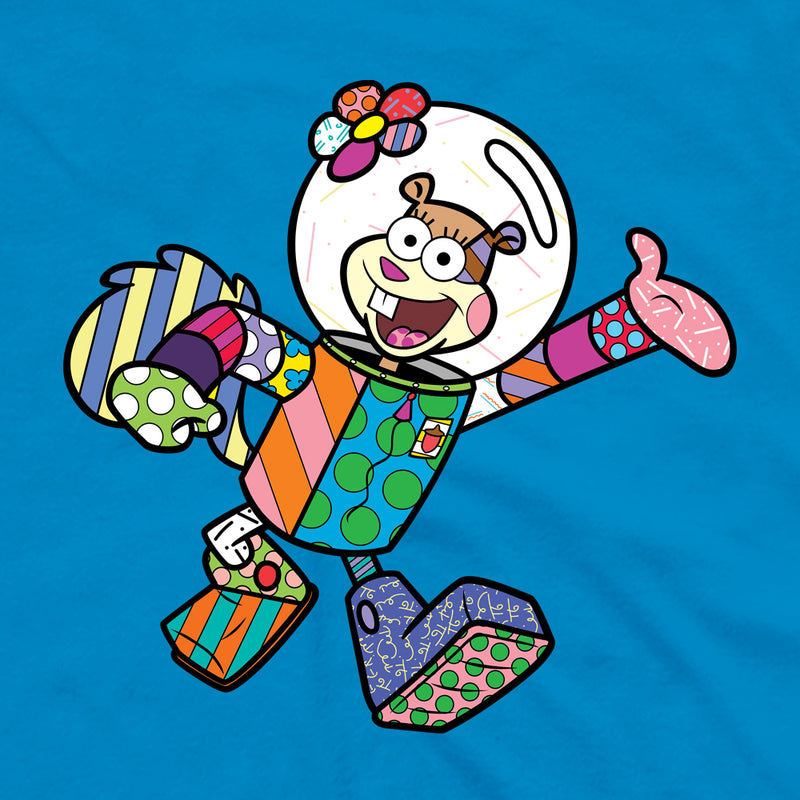 SpongeBob SquarePants Sandy Britto Adult Short Sleeve T-Shirt