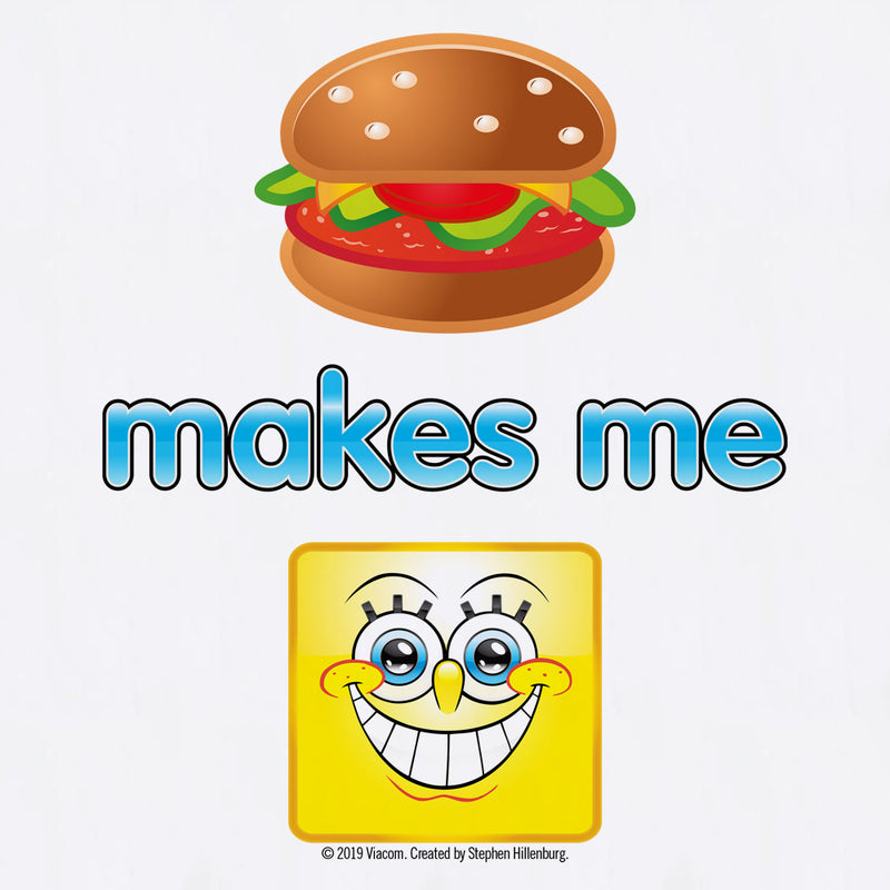 SpongeBob SquarePants Emoji Burger Smile Apron - SpongeBob SquarePants Official Shop