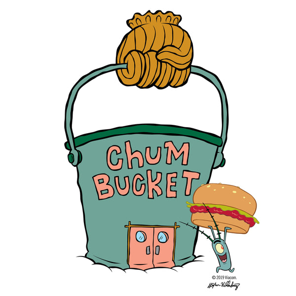 Chum Bucket Apron - SpongeBob SquarePants Official Shop