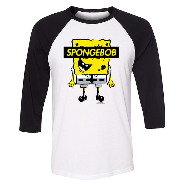 SpongeBob SquarePants No Eyes ¾ Baseball T-Shirt
