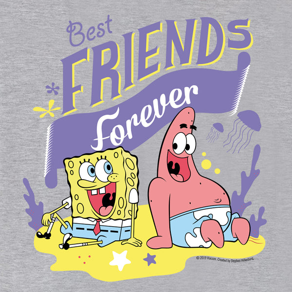 SpongeBob SquarePants Best Friends Women's Relaxed V-Neck T-Shirt - SpongeBob SquarePants Official Shop