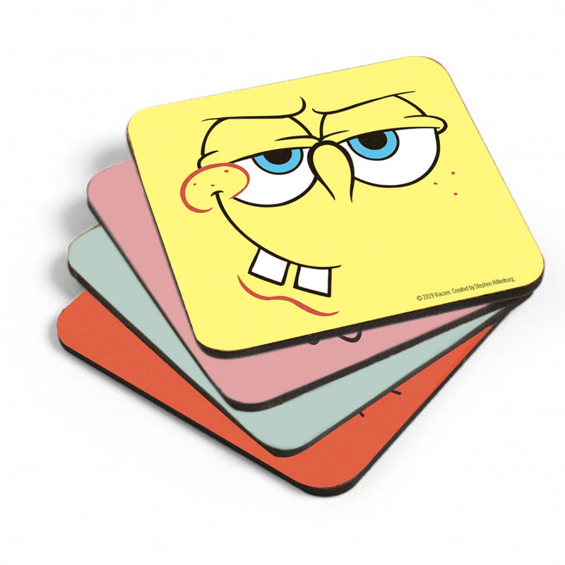 SpongeBob SquarePants Character Coasters - Set of 4