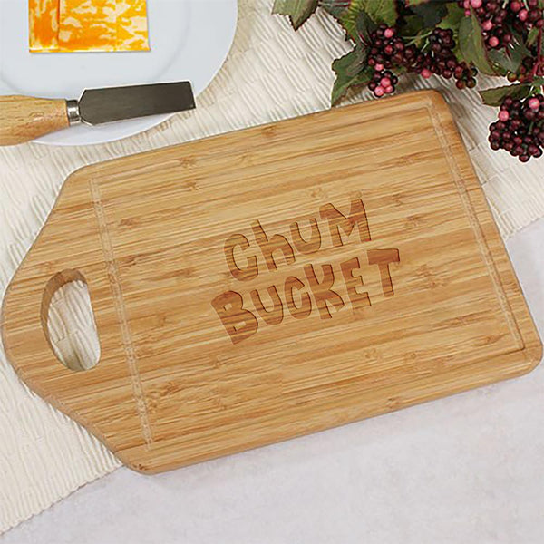 Chum Bucket Cutting Board