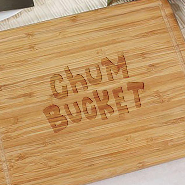 Chum Bucket Cutting Board - SpongeBob SquarePants Official Shop