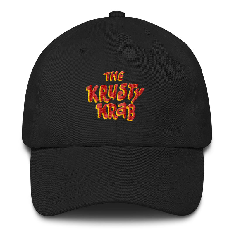 The Krusty Krab Embroidered Hat - SpongeBob SquarePants Official Shop