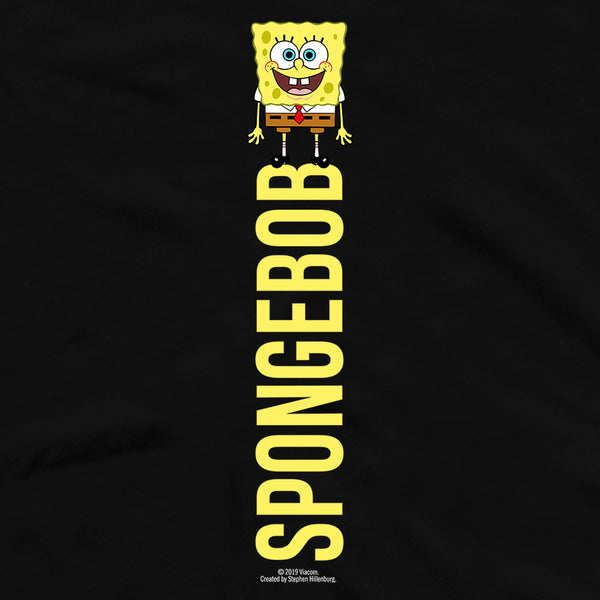 SpongeBob SquarePants Name Play Short Sleeve T-Shirt - SpongeBob SquarePants Official Shop