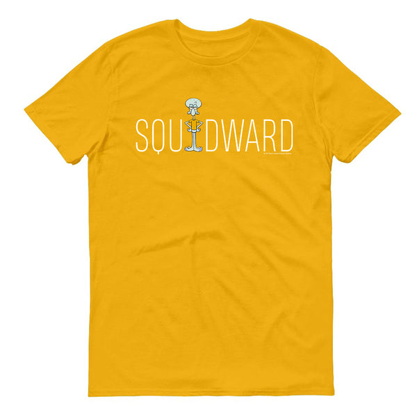 Squidward Official Name Short Sleeve T-Shirt