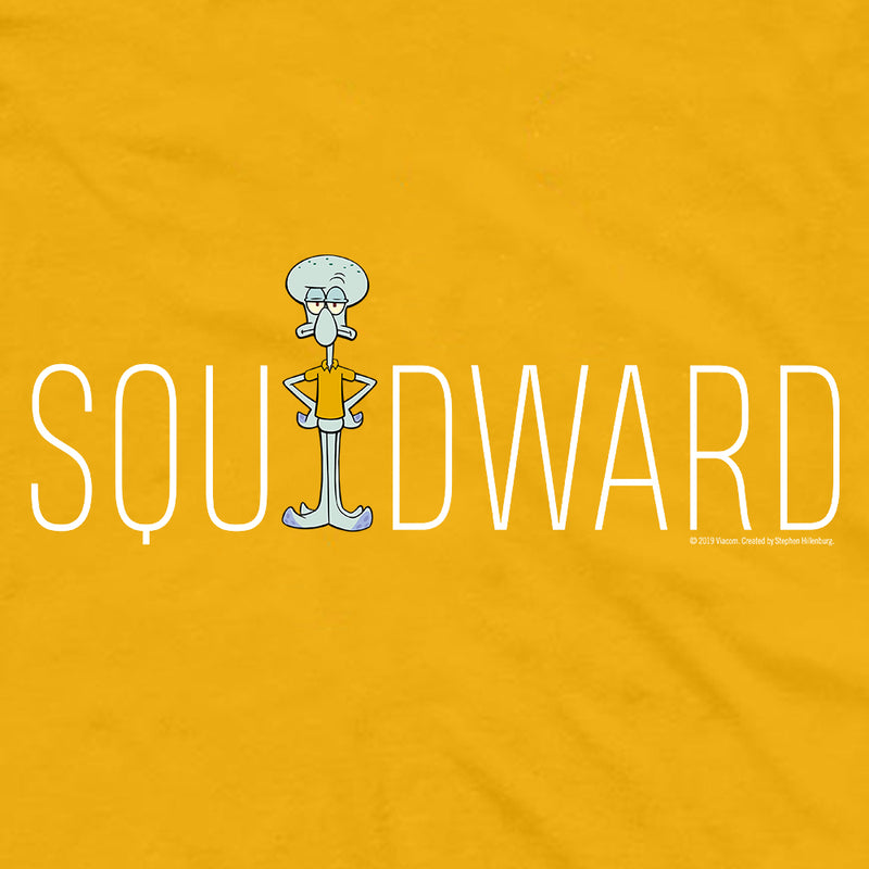 Squidward Name Play Short Sleeve T-Shirt - SpongeBob SquarePants Official Shop