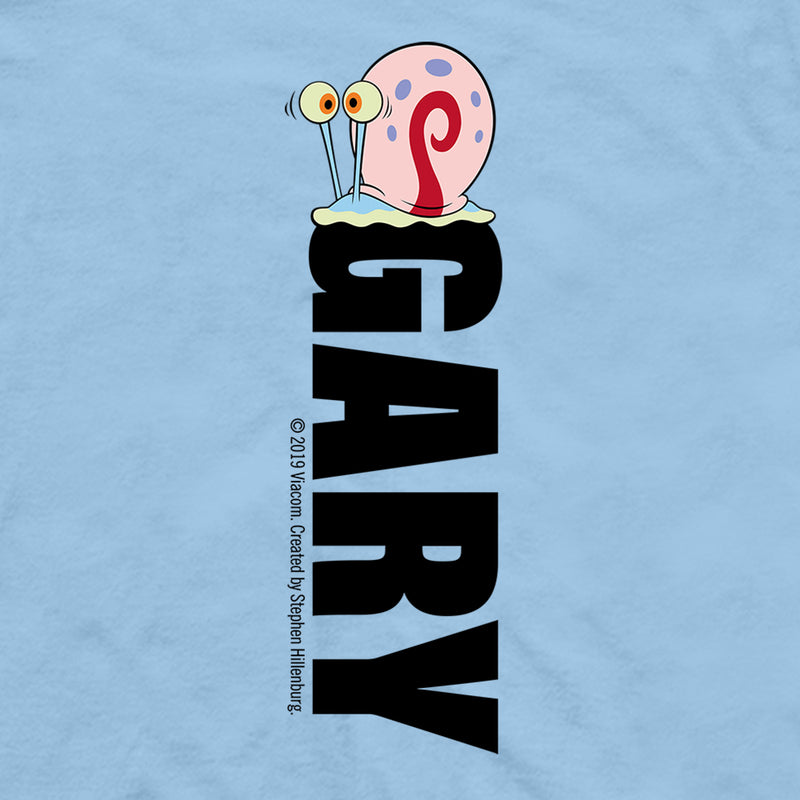 Gary Pocket Name Short Sleeve T-Shirt - SpongeBob SquarePants Official Shop