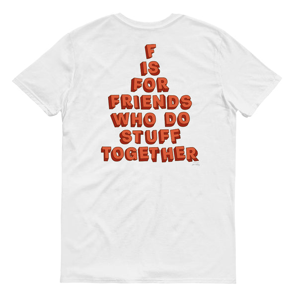 SpongeBob SquarePants Do Stuff Together Short Sleeve T-Shirt - SpongeBob SquarePants Official Shop