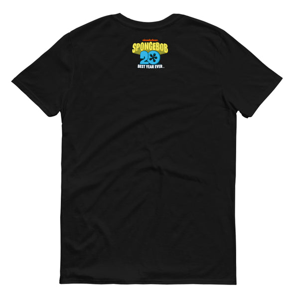 SpongeBob SquarePants Best Year Ever Jellyfish Adult Short Sleeve T-Shirt