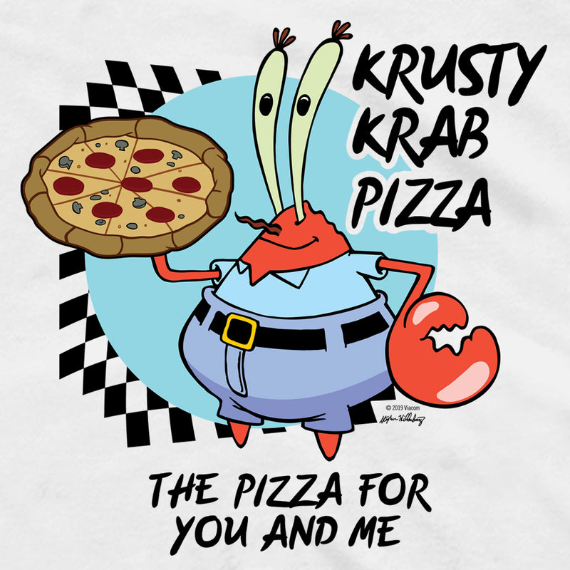 Krusty Krab Pizza Short Sleeve T-Shirt
