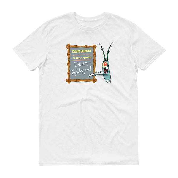Chum Bucket Chum-Balaya Short Sleeve T-Shirt