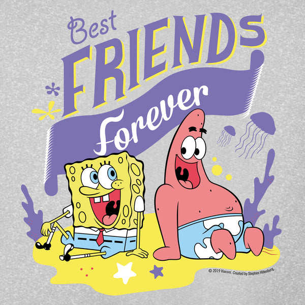 SpongeBob SquarePants Best Friends Kids Short Sleeve T-Shirt - SpongeBob SquarePants Official Shop