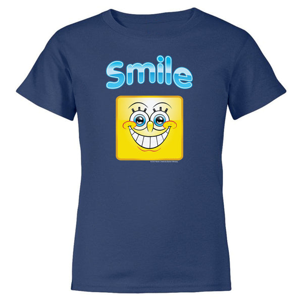 SpongeBob SquarePants Smile Kids Short Sleeve T-Shirt