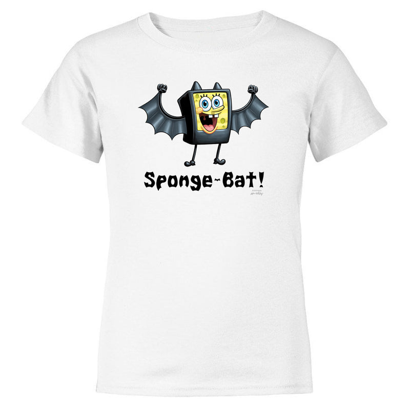 SpongeBob SquarePants Sponge-Bat Kids Short Sleeve T-Shirt
