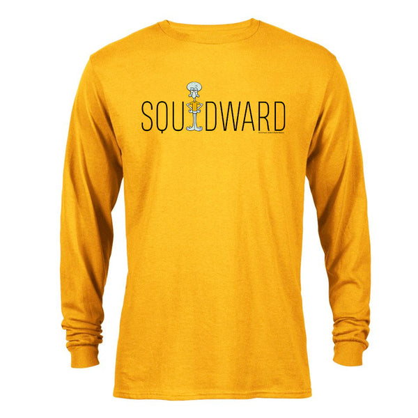Squidward Official Name Long Sleeve T-Shirt