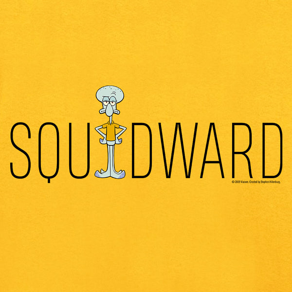 Squidward Name Play Long Sleeve T-Shirt - SpongeBob SquarePants Official Shop