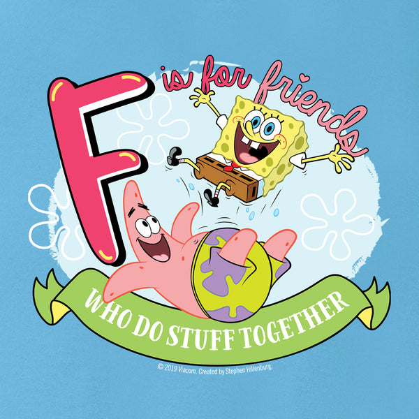 SpongeBob SquarePants Do Stuff Together Baby Bodysuit - SpongeBob SquarePants Official Shop