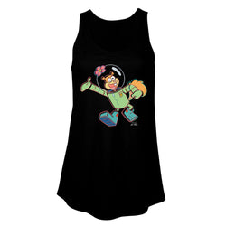 Sandy Cheeks 3D Women's Flowy Tank Top
