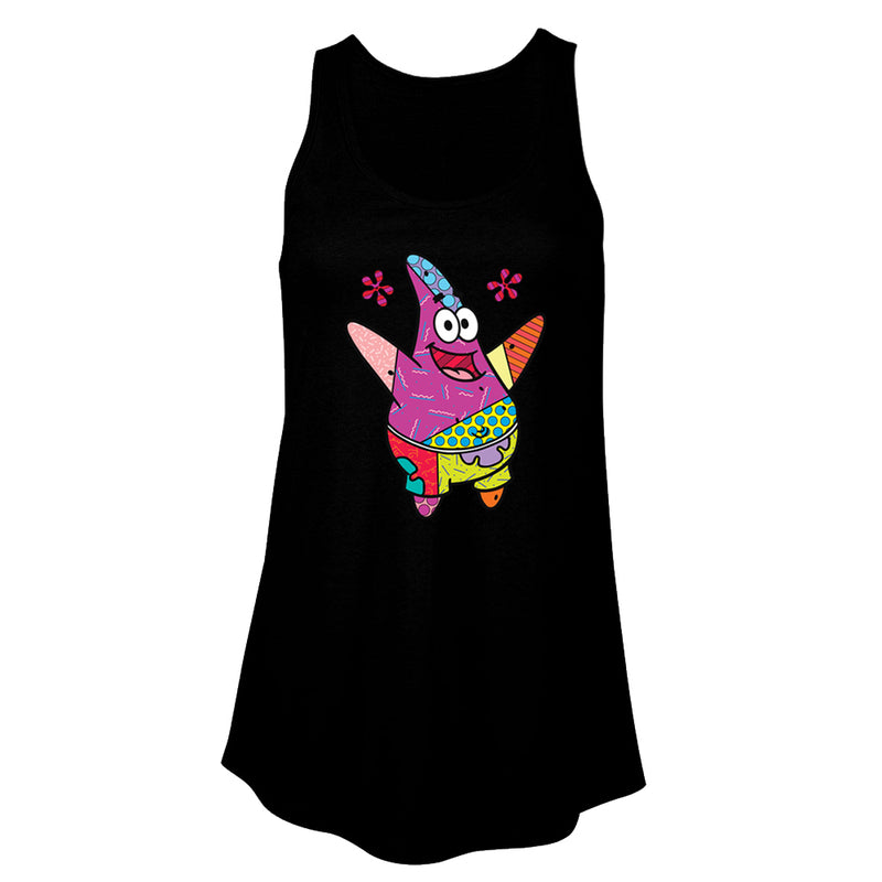 SpongeBob SquarePants Patrick Britto Women's Flowy Tank Top