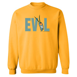 Plankton Evil Fleece Crew Neck Sweatshirt