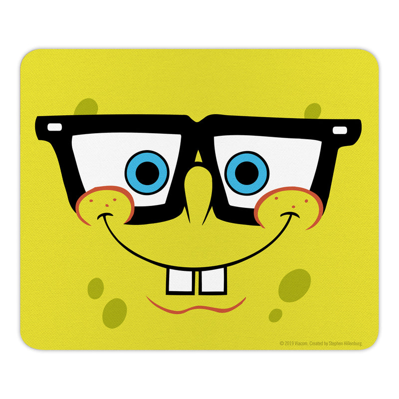 SpongeBob SquarePants Yellow Big Face Mouse Pad