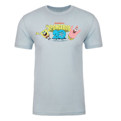 SpongeBob SquarePants SpongeBob and Patrick Short Adult Short Sleeve T-Shirt