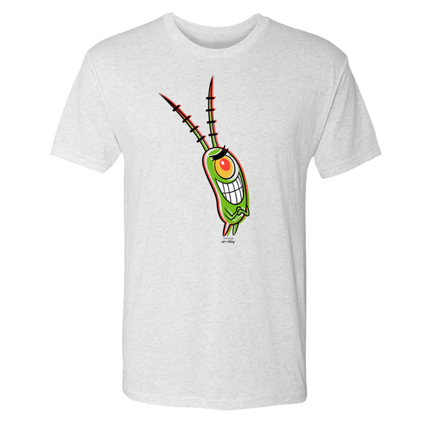 Plankton 3D Tri-Blend Short Sleeve T-Shirt