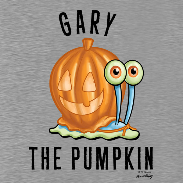 SpongeBob SquarePants Gary the Pumpkin Men's Tri-Blend T-Shirt