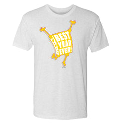SpongeBob SquarePantsBest Year Eve Men's Tri-Blend T-Shirt