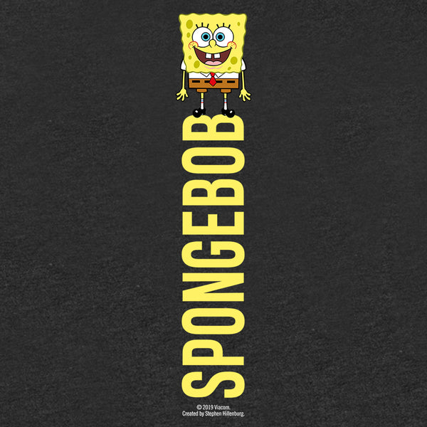 SpongeBob SquarePants Name Play Women's Tri-Blend Short Sleeve T-Shirt - SpongeBob SquarePants Official Shop