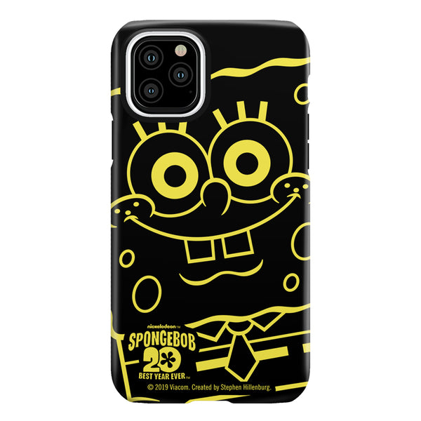 SpongeBob SquarePants 20th Anniversary Tough Phone Case - SpongeBob SquarePants Official Shop