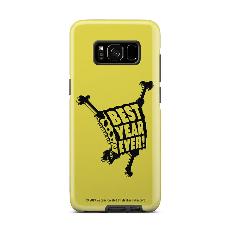 SpongeBob SquarePants Best Year Ever Tough Phone Case - SpongeBob SquarePants Official Shop
