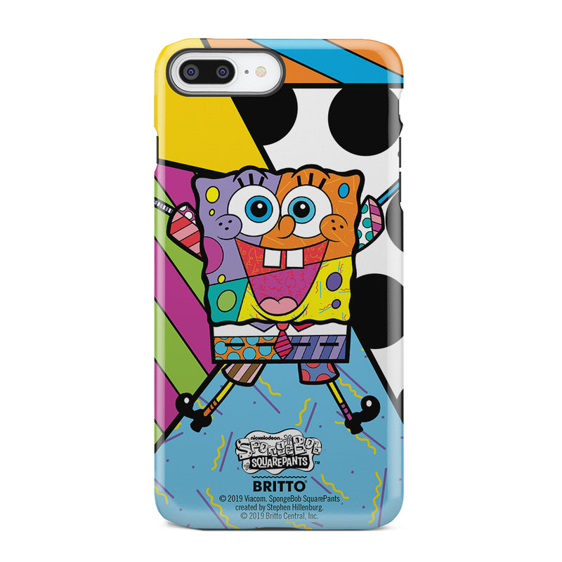 SpongeBob SquarePants Britto Tough Phone Case - SpongeBob SquarePants Official Shop