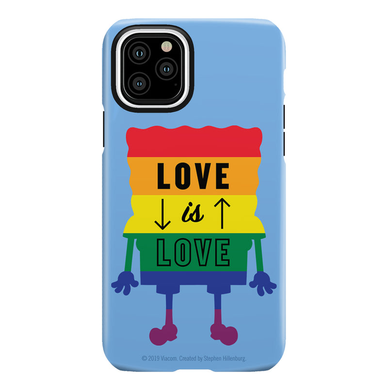 SpongeBob SquarePants Love is Love Tough Phone Case - SpongeBob SquarePants Official Shop