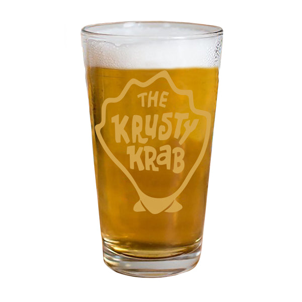 The Krusty Krab Drinking Glass - SpongeBob SquarePants Official Shop
