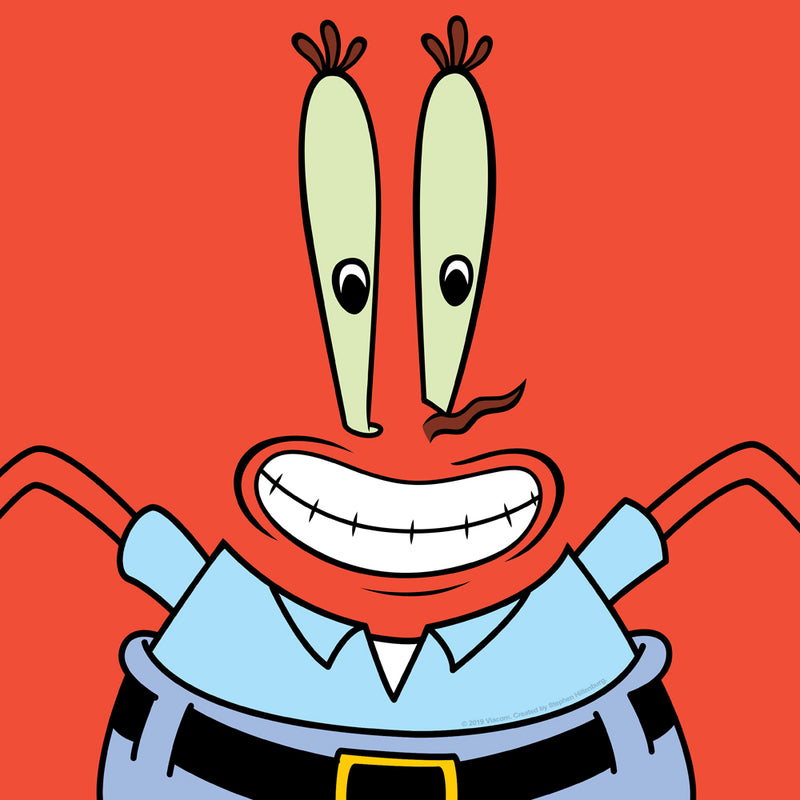 Mr. Krabs Short Sleeve Costume T-Shirt