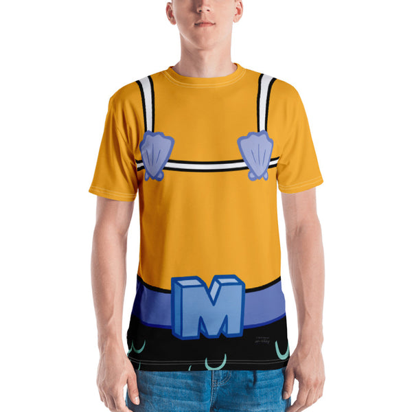 Mermaid Man Short Sleeve Costume T-Shirt