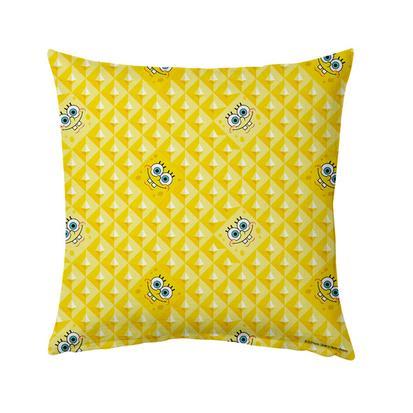 "SpongeBob SquarePants Happy Throw Pillow - 16"" x 16"""