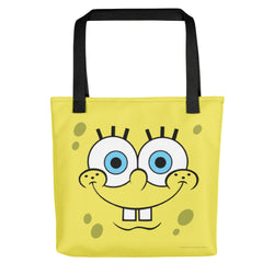 SpongeBob SquarePants Happy Face Tote Bag - SpongeBob SquarePants Official Shop