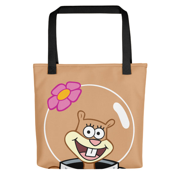 SpongeBob SquarePants Sandy Big Face Premium Tote Bag