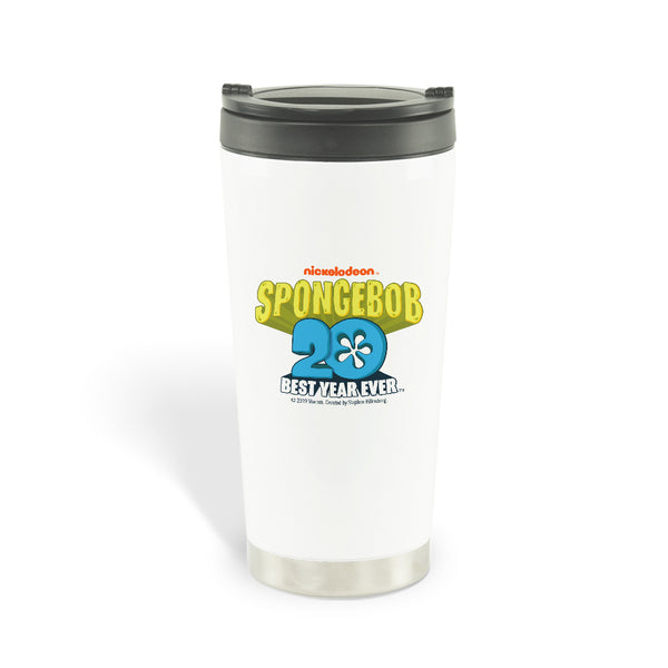 SpongeBob SquarePants Best Year Ever Jellyfish Travel Mug - SpongeBob SquarePants Official Shop
